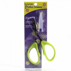 "Karen Kay Buckley Perfect Scissors - Tijeras microserradas 4"" Verde"