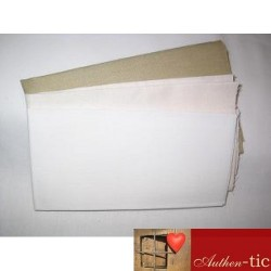 "Tela para punch needle color blanco (18""x22"")"
