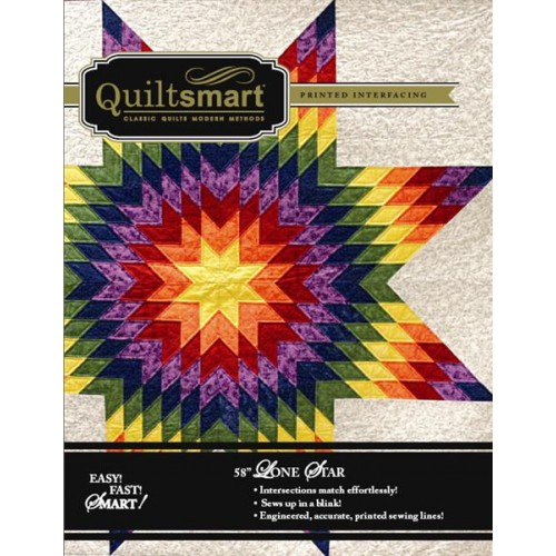 Quiltsmart entretela lone star 58 panel 1 punta for Cataleg punts estrella