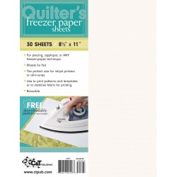 Quilter's Freezer paper paquete 30 hojas