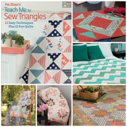 Libro Pat's Sloan Teach Me to Sew Triangles