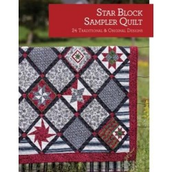 Star Block Sampler Quilt
