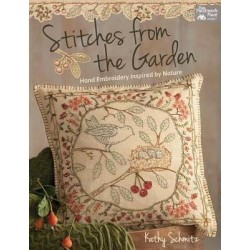 Libro Stitches from the Garden by Kathy Schmitz