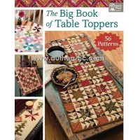 Libro Martingale The Big Book of Tabletoppers (56 proyectos)