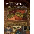 Libro Seasons of Wool Applique Folk Art by Rebekah L Smith