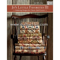 Libro Jo's Little Favorites III by Jo Morton  DISPONIBLE A PARTIR DEL 15 DE MAYO