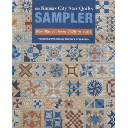 Libro The Kansas City Star Quilts Sampler - 60+ Blocks from 1928 to 1961