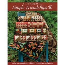 Libro kim Diehl and Jo Morton Simple Friendships II (Preventa para entrega enero 2019)