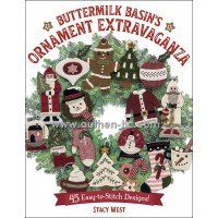 Libro Martingale Buttermilk Basin's Ornament Extravaganza by Stacy West (PREVENTA HASTA 6 de AGOSTO)
