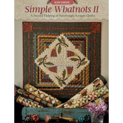 Libro by Kim Diehl Simple Whatnots II - A Second Helping of Satisfyingly Scrappy Quilts