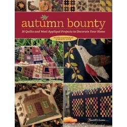 Libro Martingale Autumn Bounty by Renee Nanneman (PREVENTA HASTA 30 de MAYO)