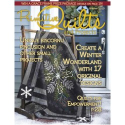 Primitive Quilts & Projects Winter 2019