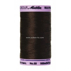 Mettler Hilo #50 algodón Silk Finish 500 mt 1002