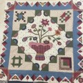 "Authentic mystery quilt verano 2015 - mistery - ""That simple Quilt"""