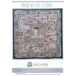 Patron Where we Love is Home  by Hatched and Patched