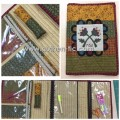 Authentic Kit Libro de Costura Angie´s Heart (patron + telas)