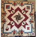 Authentic Mystery quilt Otoño mistery  2016 - Windmill Land - Patron digital