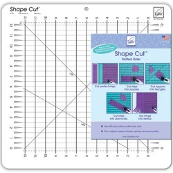 "June Taylor regla Shape Cut 12""x12"""