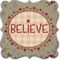 Believe by Janet Rae Nesbitt of One Sister Designs