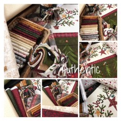 Henry Glass Believe by Janet Rae Nesbitt Bundle 12 FQ + Panel