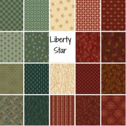 Henry Glass Liberty Star by Kim Diehl Bundle 19 FQ