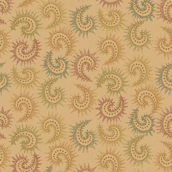 "Spiced Paisley 108"" Wide by Kim Diehl 6368-33 TRASERA"