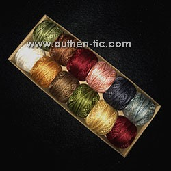 Valdani Carried Away by Carrie Golias #4 12 Perle Cotton 500 m x12 colores