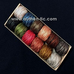 Valdani The Woolen Willow Jenifer Gaston 12 Perle Cotton 500 m x12 colores